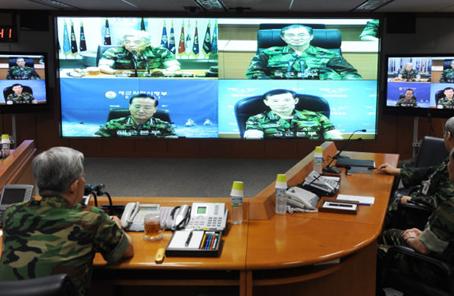 """韓國自己搞了20多年的""""太極軍演""""也暫停了!"""
