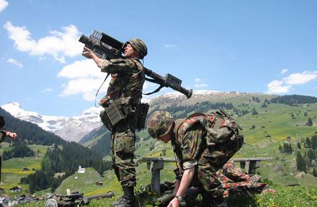瑞士政府決定放寬武器出口條例