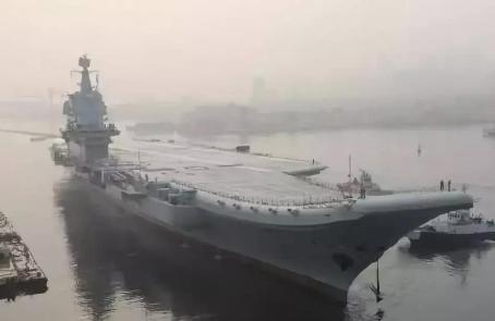 首次海试项目全完成 国产航母预计年底交付海军