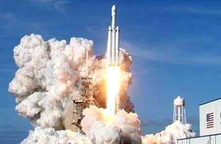 """""""猎鹰重型""""火箭拿下美国空军1.3亿美元大单"""