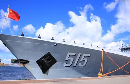 第29批护航编队滨州舰参加波兰海军成立100周年庆典