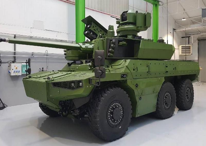 外媒:法國裝甲車作戰力一流