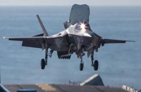為行動安全考慮?外媒稱美海軍悄悄向西太部署F-35