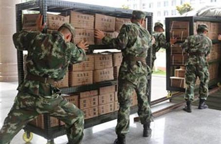 戰備物資重在實用管用