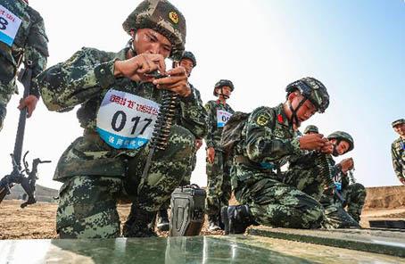 武警部隊舉行首屆支隊指揮員大比武