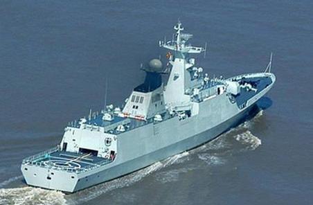 中國海軍編隊在亞丁灣為商船保駕護航