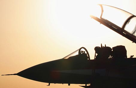 中國空軍八一飛行表演隊:和平飛舞,讓朋友圈越來越大