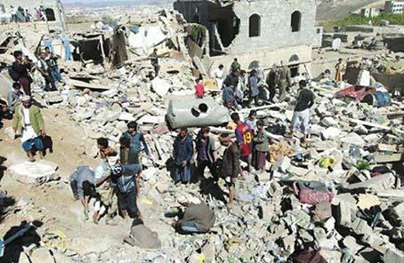 """也门空袭致死40儿童 炸弹是""""美国货"""""""