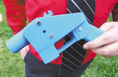 3D打印槍以假亂真或會傷人傷己