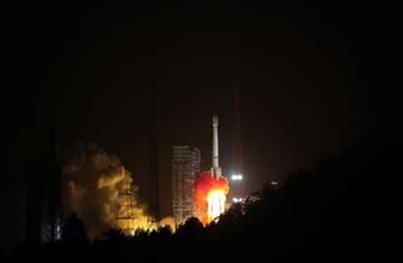我国发射两颗北斗卫星 首次装载国际搜救组织设备