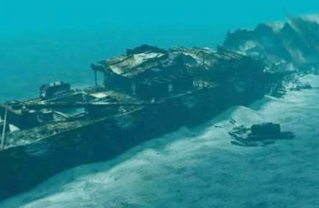 瞄准3000亿英镑黄金 英打捞队寻找战争沉船宝藏