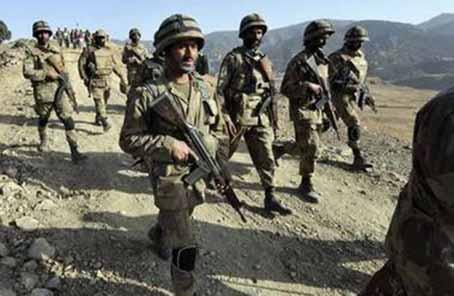 巴基斯坦軍方打死9名武裝分子