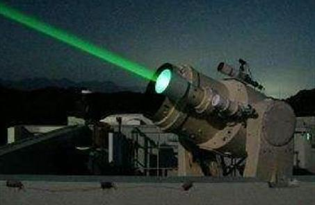 激光武器顯威反導戰場
