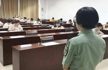 全軍面向社會公開招考文職人員面試工作展開