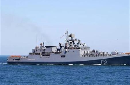 土耳其水师在地中海阻拦希腊驱赶舰