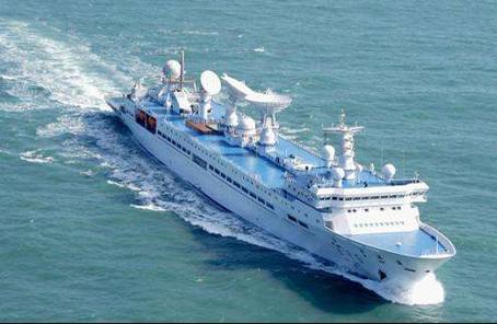 眺望5号船完成初次中修正造加强测控本领