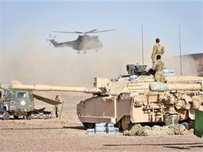 英军大规模军演剑指俄罗斯?