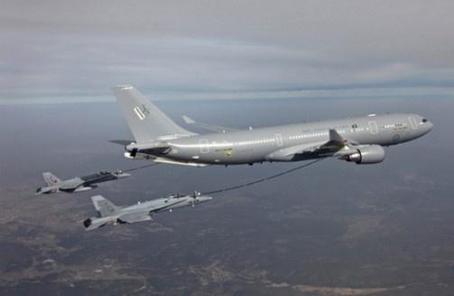 韩军接收首架空中加油机 战机作战时间将延长1小时