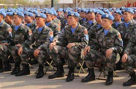 中国第五批赴南苏丹(朱巴)维和步兵营出征