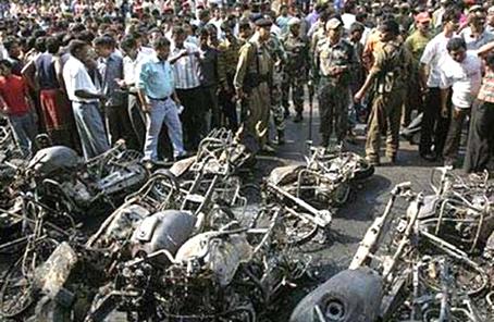 印度一军事场所发生爆炸5人死亡