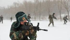 火箭軍某部組織極寒條件下實戰化練兵
