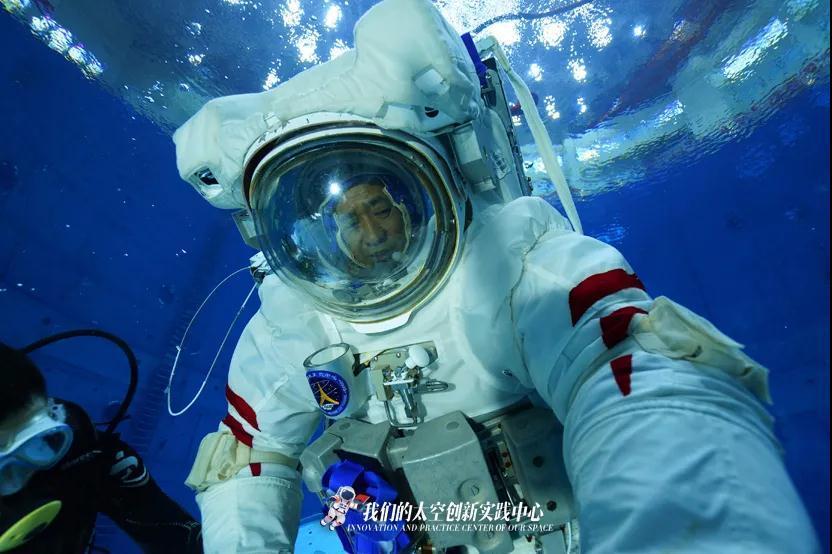 酷!神舟十二號飛行乘組模擬失重環境水下訓練大片來襲!