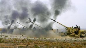 南疆軍區某團火炮怒吼喀喇昆侖