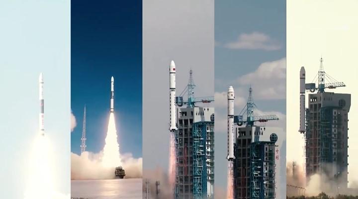 追星攬月!酒泉衛星發射中心2020航天發射合集
