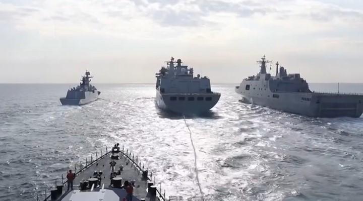 火力全開!海軍多編隊東海南海大練兵