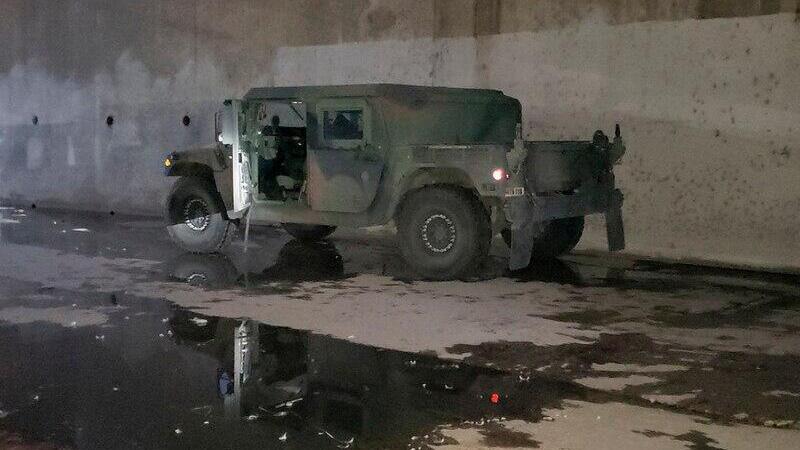美國民警衛隊失竊悍馬越野車已被找到 但竊賊尚未抓獲