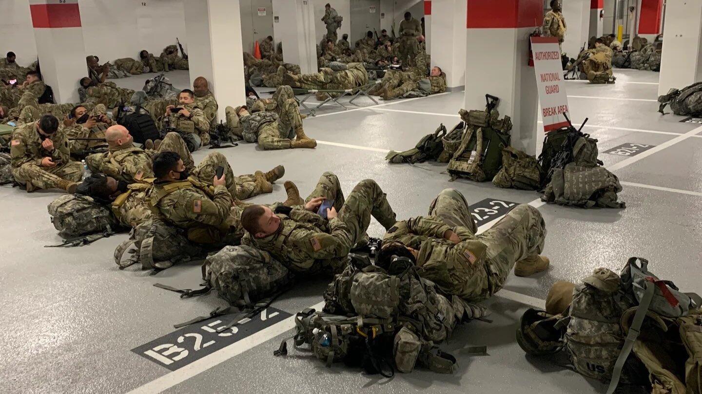在華盛頓睡地板後又被迫睡車庫 美軍士兵心寒:已不是頭一回被冷落