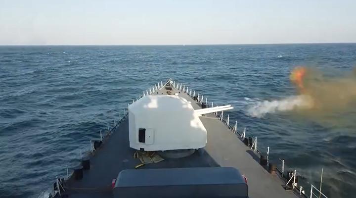 烎烎烎!海軍驅逐艦南海實戰化訓練