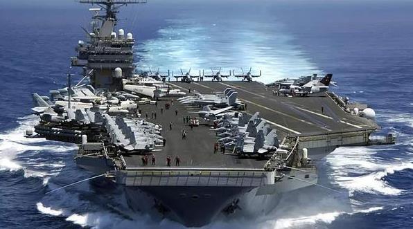 美國航母一進南海 日媒臺媒就通報解放軍動向