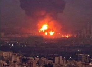 塞爾維亞一兵工廠發生爆炸