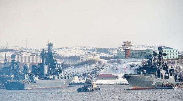 俄北方艦隊在北極進行大規模演習 出動近50艘軍艦120架飛機