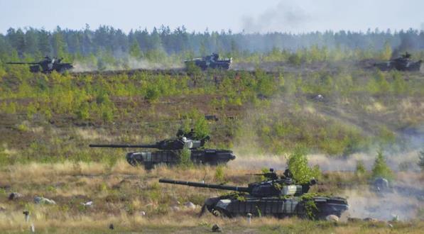 俄白舉行大規模演習回應北約挑釁 出動20萬大軍290輛坦克