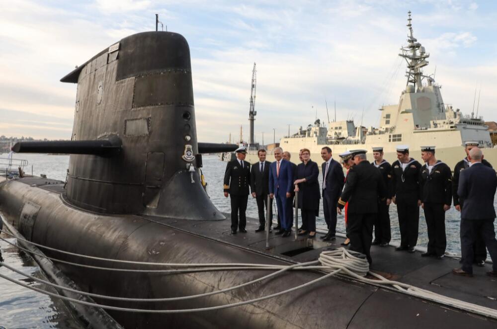 法國外交官:澳大利亞撕毀潛艇合同動搖整個歐洲的信心