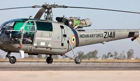 印軍直升機在克什米爾地區墜毀 2名飛行員死亡