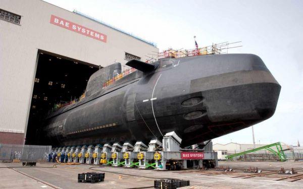 英國斥資1.7億英鎊打造新一代攻擊型核潛艇