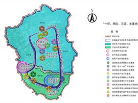 海豐縣現代農業産業園空間布局與功能分區