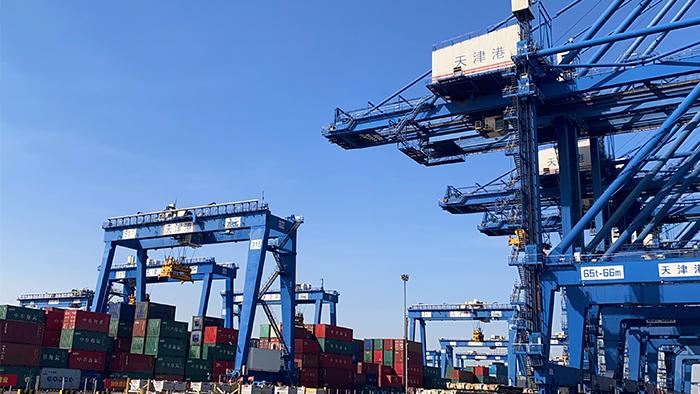 【2020·指尖城市】天津港:用技術打造智慧港口新標桿 用智慧賦能港口建設新海藍