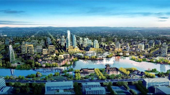 南湖:將誕生一座未來科技之城