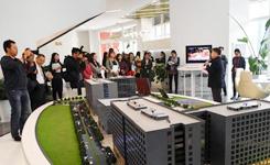 中外記者探訪科技文化創新企業 為十九大報道預熱