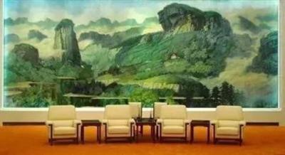 """人民大會堂那幅""""上鏡率""""最高漆畫的著作權之爭"""