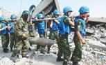 中國維和軍人:雷場排雷護家園
