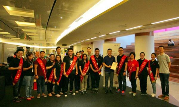 中企在馬來西亞開展無償獻血活動