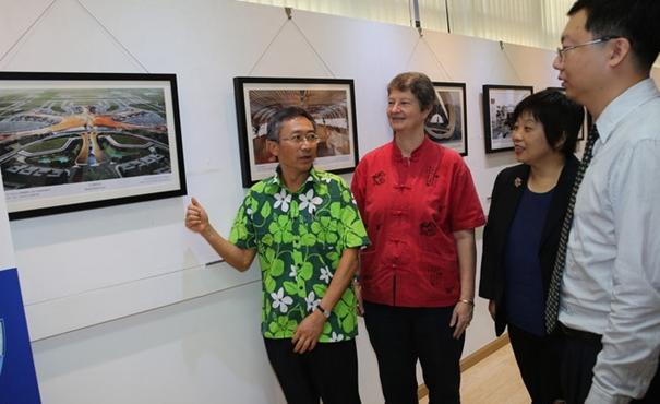 中國當代建築圖片展在斐濟首都舉行