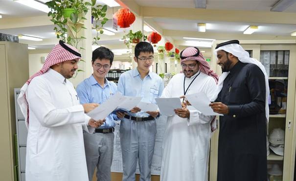 """與中國企業共成長——一名沙特青年的""""中國情緣"""""""