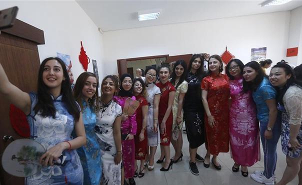 黎巴嫩大學舉辦中國文化日活動