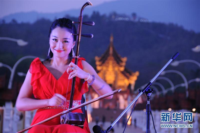 """""""四海同春""""演出在泰國清邁世博園舉行[組圖]"""
